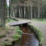 Kanal zu den Bergwerken