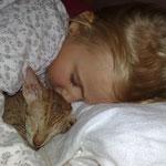 Kind & Katz ein tolles Team - SaphirAngel's Curtis