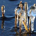 Eisstrukturen. Gottfried Walter
