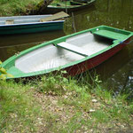 Ruderboot auf Wunsch mit Elektromotor