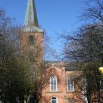 St. Magnus-Kirche in Esens von 1848 - 5 Min. fußläufig vom Gästehaus