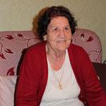 Claire GANGNEUX, 85 ans le 21 décembre 2014