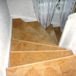 Classic Korkparkett Nazare - Treppe