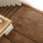 Classic Korkparkett Merida rustikal Treppe