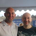 Belle surprise avec la visite de mon ami Saverio Tomasella (Les amours impossibles, La folie cachée,...)
