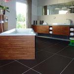 Badezimmer indischer Apfel Schreiner Holzbadewanne
