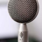 Unser Gesangsmikro mit der legendären M7 Kapsel aus den 50ern