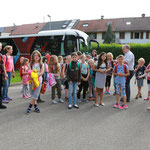 Anreise mit dem The Young ClassX Musikmobil