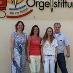 Das Team des Haus der Klänge: Ina Gutsch, Birgit Schmitt, Heike Topfmeier, Wolfgang Brommer