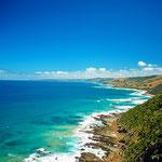 Eine der Traumstraßen in Australien, die Great Ocean Road im Staat Victoria