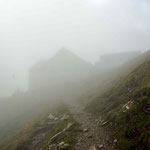 Kurz vor der Rotsteinpass Hütte