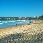 Der bekannte Bondi Beach von Sydney