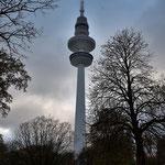 Der Fernsehturm von Hamburg