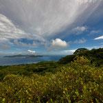 Vom Gipfel des Nid D`Aigle auf La Digue