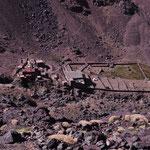 Nach der erfolgreichen Besteigung, und dem gelungenen Abstieg, kamen die Hütten wieder in Sicht.