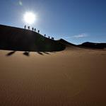 Dünentrekking in der Sahara