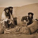 Unsere Beduinen am Abend