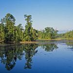 Eine Seenlandschaft im Terrai
