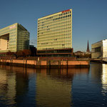 """Das neue Gebäude des """" Spiegelverlages """""""