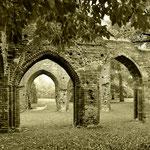 Die Klosterruinen von Eldena