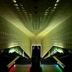 Die Rolltreppe in der Elbphilamonie ist die größte Europas mit 82 m Länge
