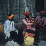 Musikanten in Kathmandu