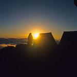 Logenplatz zum Sonnenaufgang