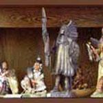 Handbemalte Indianerfiguren zum Sammeln