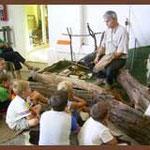 Flintknapping, Feuersteinbearbeitung
