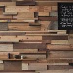 Parement mur en bois