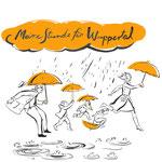 http://www.meinestundefuerwuppertal.de/ Achten Sie auf den orangen Schirm und besuchen Sie die Seite. Ein tolles Projekt!