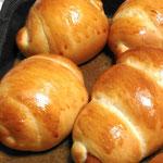 ロールパン・ウインナーパン