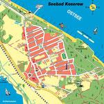 Karte von Koserow