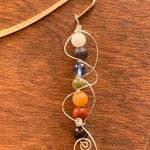 SOLD Chakra Stone Bookmark photo 1   $25