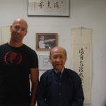Jens Wurster e Lo Man Kam. il nipote di Yip Man