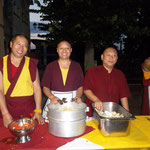 The friendly monks