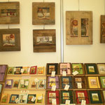 Calendario - great diaries, notebooks, pictures hand made in wood
