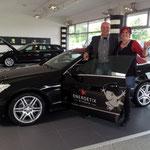 Mercedes gesponsert von der Firma ENERGETIX