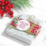Verpackung für Weihnachten