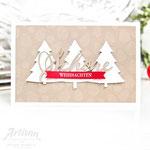 Weihnachtskarte mit Stampin Up!