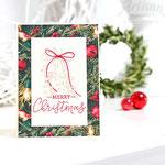 Weihnachtskarte mit Stampin up