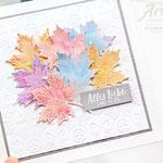 Herbstkarte- Jahr voller Farben
