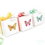 Verpackung mit Schmetterlingen