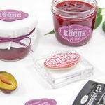 Etiketten für Marmelade