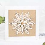 Schneeflocken-Karten
