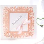 Hochzeitskarte mit Feine Spitze