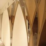 坪内美容室 くずはモール 壁面装飾金物 2009
