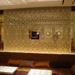 CLUB BISSER 大阪 壁面装飾金物 2007