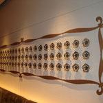 TUBAKI 壁面オブジェ 2006