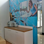 Cafebar mit Imagebild